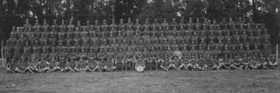 Group portrait, E Company, 18th Reinforcements