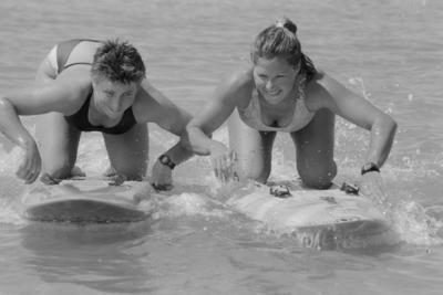 Katrina Eganon on the left and Jannene Harker