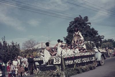 Hastings Blossom Festival parade, Pania Māori Culture Club float