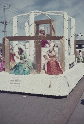 Hastings Blossom Festival parade, As pretty as a Picture float