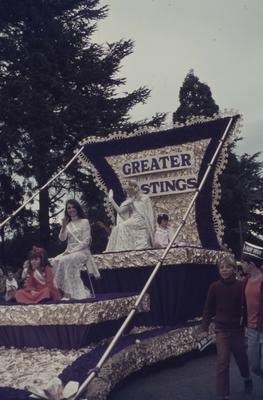 Hastings Blossom Festival parade, Greater Hastings float
