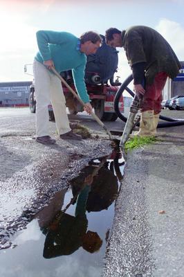 Liquid Sugar Spill Cleanup, John Kearns and Peter Ellison