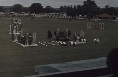 Showday at Tomoana Showgrounds, show jumping competitions