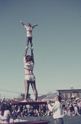 Showday at Tomoana Showgrounds, gymnasts