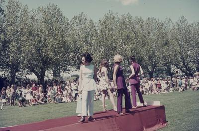 Showday at Tomoana Showgrounds, fashion parade