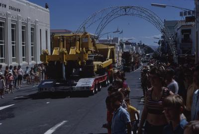 Napier Centennial parade, large vehicles