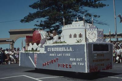 Napier Centennial parade, Prevent Fires float