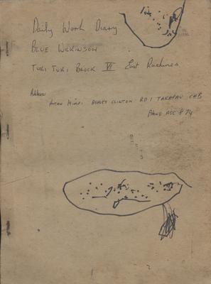 Diary, Blue Wilkinson