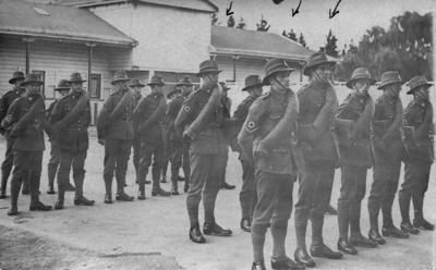 Soldiers from the New Zealand Medical Corps Reinforcements