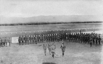Presentation of colours, No 2, New Zealand Field Ambulance