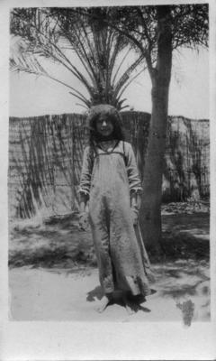 Tel el Kebir, young girl