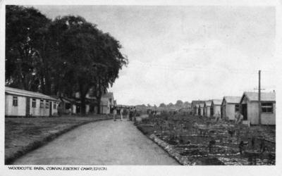 Woodcote Park Convalescent Camp, Epsom; Burdekin, W