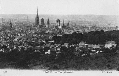 Rouen, a general view