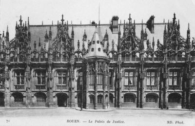 Rouen, Le Palais de Justice