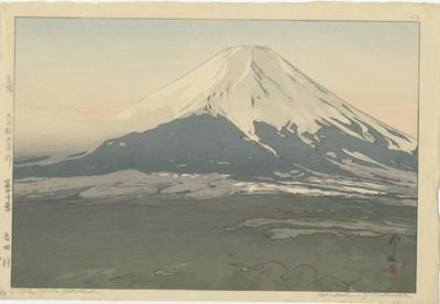 Mt Fuji from Yoshida