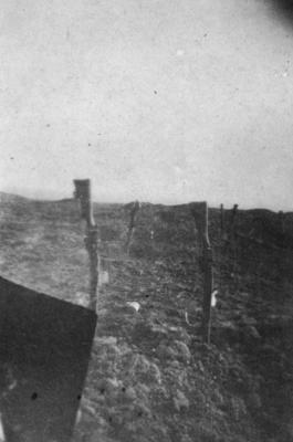 The Somme, German wire