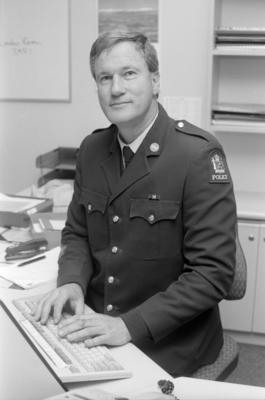 John Lovatt, Senior Sergeant, Napier Police