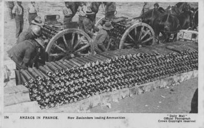 ANZACS in France; Daily Mail