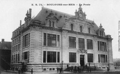Boulogne-sur-Mer, La Poste, France
