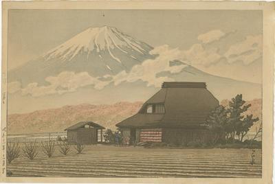 Narusawa no Fuji; Kawase, Hasui; Watanabe; 87/40/1