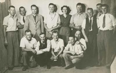Cast members of the musical production, Boots 'n' All