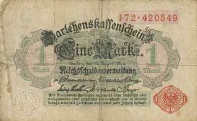 German money, 1 mark