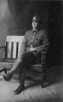 Unidentified New Zealand Soldier