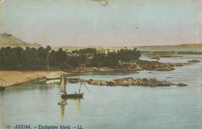Postcard, Assuan - Elephantine Island