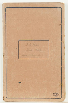 Scrapbook, Dorothy Flinn; Flinn, Dorothy; 2015/16/2