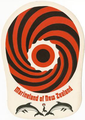 Marineland of New Zealand card sunhat; Marineland of New Zealand; 2015/9/2