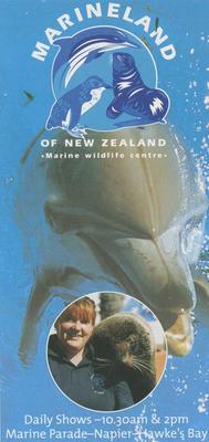 Pamphlet, Marineland of New Zealand