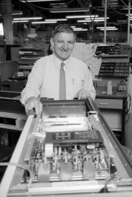 Harry Brown,  PDL Electronics, Napier