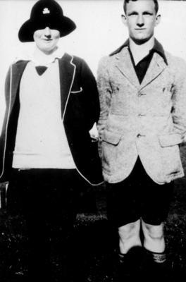 Bonnie Gurr and Harry Cornford