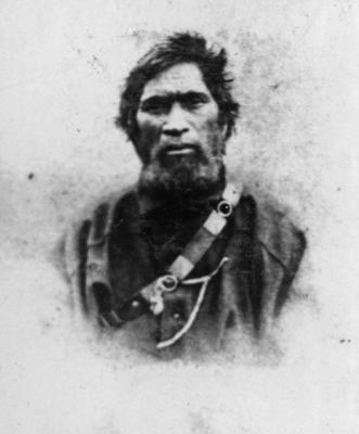 Portrait, Wiremu Tamihana Tarapipipi Te Waharoa