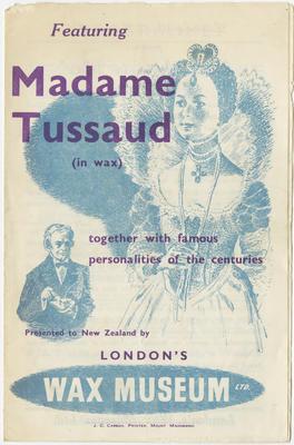 Programme, Madame Tussaud