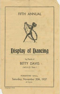 Programme, Dance Recital