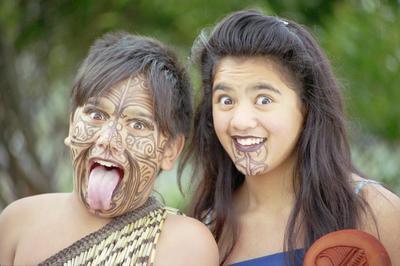 Joshua Wiparata and Marewa King, Hui Nga Tamariki Festival, Napier Intermediate School
