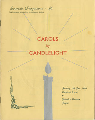 Programme, Carols by Candlelight