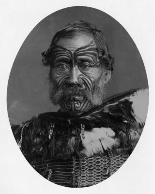 Portrait, Paora Torotoro; Carnell, Samuel; 40/12