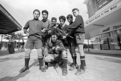 Māori Culture Club Members, Napier Boys High School