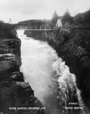 Huka Rapids, Wairakei