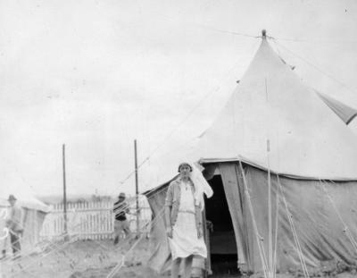 Hospital tent at Napier Park Racecourse; 2015/23/10