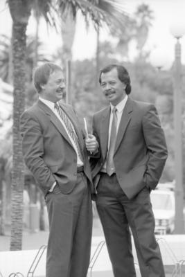 Henry Puna and Ron Massey