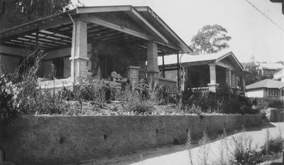Concrete block house, Milton Road, Napier; Sinclair, Ernest; 2015/31/56