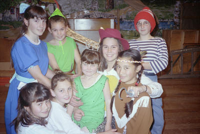 Cast Members, Peter Pan and Wendy Production, Wairoa