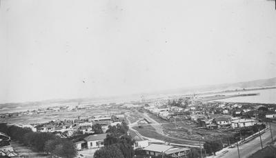 Panoramic view of Port Ahuriri, Napier