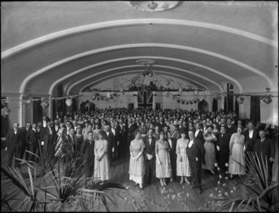 Function in Assembly Hall, Hastings
