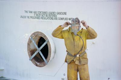 Maurice Johansen, Shell Oil, Napier
