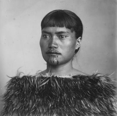 An unidentified Māori woman