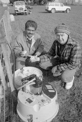 Daved Dravid and Jim Watt, Pesticide Study
